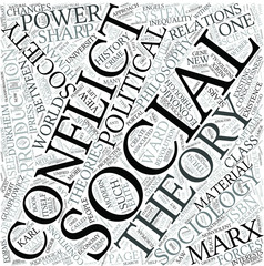 Conflict theory Disciplines Concept