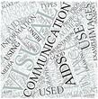 Visual communication Disciplines Concept