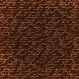 Seamless brown elegance hand write pattern