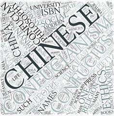 Confucianism Disciplines Concept