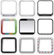 Blank app icons.