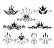 Decorative crown elements