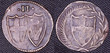 English Commonwealth Halfgroat silver coin 1649-1660