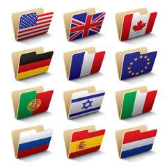 World folders icons 1