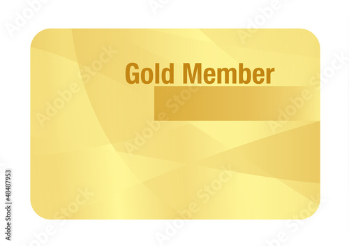 Gold VIP Club Card