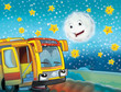 The happy face bus