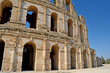 Roman amphitheater in the city of El Jem - Tunisia, Africa