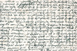 old handwritten text in italian language