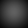Seamless Circle Perforated Carbon Grill Texture