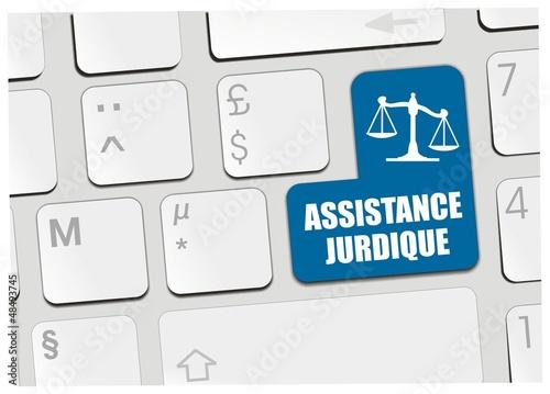 clavier assistance juridique