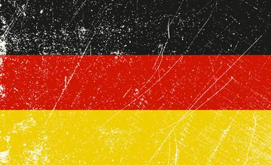 Deutsch Flagge vintage