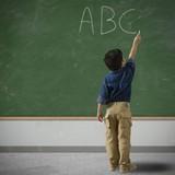 Fototapety Child at school