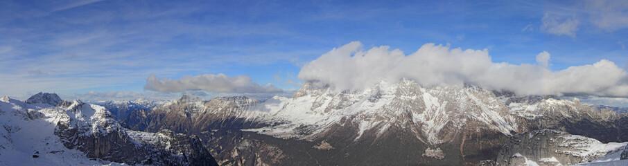 Panorama of mountains4