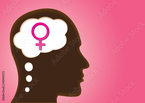 Thinking Head showing Sexual Orientation - Heterosexual