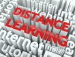 Distance Learning Concept.