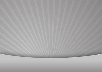Gray abstract rays background