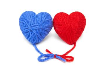Wool hearts-21