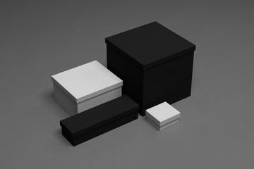 Blank corporate identity box