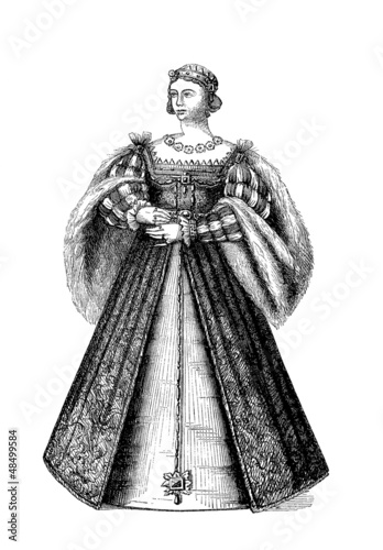 Costume - Queen 16th century