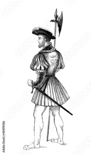 Ward Uniform - Archer-Garde - 16th century