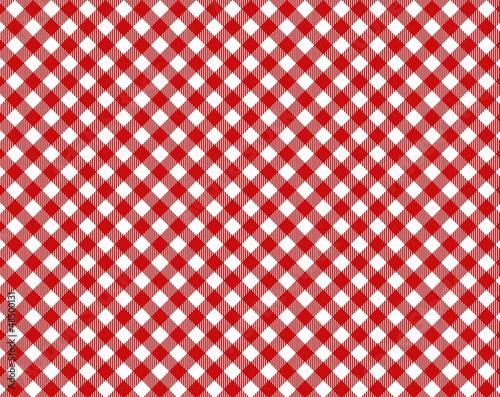 rot wei karierte tischdecke mit diagonalen streifen stockfotos und lizenzfreie bilder auf. Black Bedroom Furniture Sets. Home Design Ideas