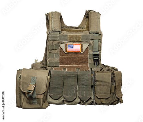 U.S. Army tactical bulletproof vest
