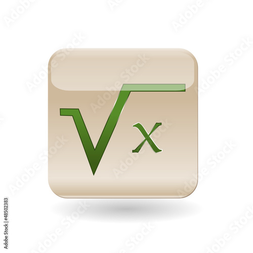 Icon square root