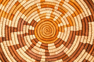 Native American Woven Background Pattern