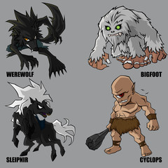 Mythical Creatures Set 10
