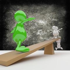 3D people Balance
