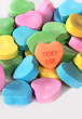 "Valentine Candy Hearts ""Text Me"""