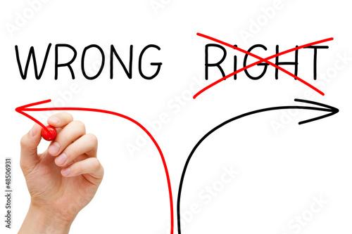Choosing The Wrong Way