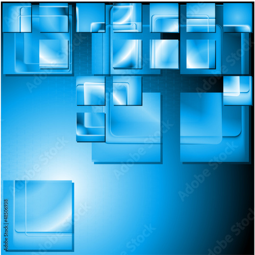 Concept hi-tech vector background