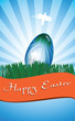 Greeting Card Happy Easter