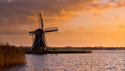 Wind Mill molen Netherlands