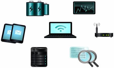 Technology element host logos