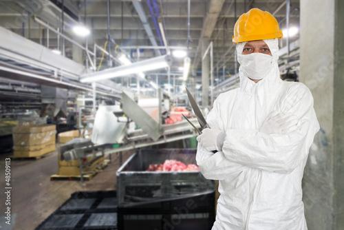 Industrial butcher