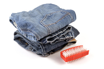 Jeans for Kids and Brush