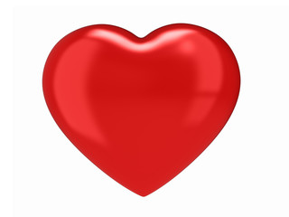 3d render of a heart