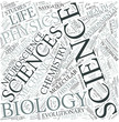 Life sciences Disciplines Concept