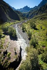 Cascade Trois Roches - Mafate - Ile de La Réunion