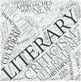 Literary theory Disciplines Concept poster