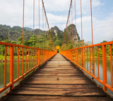 Bridge in Vang Vieng