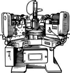Old machine tool