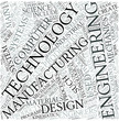 Manufacturing engineering Disciplines Concept