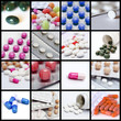 Collage of pills