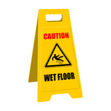 positioner caution wet floor II