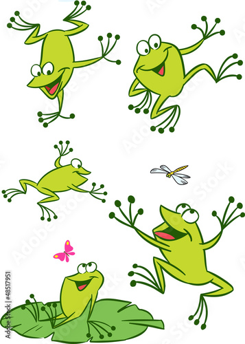 few frogs