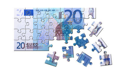 20 Euro Schein Puzzle