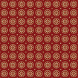 Stars seamless retro pattern.  Red background abstract. Vector
